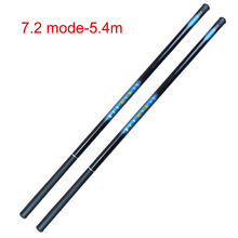 2019 Hot Sale Thread FRP Fishing Rod Telescopic Ultralight Hard Pole for Stream Freshwater  DX88