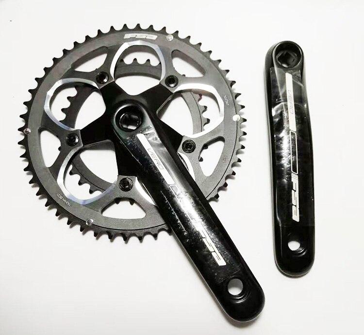 FAS 9 S 50 34 T 165 mm CNC aluminum 130 BCD road bike crank chain