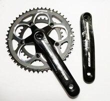 FAS 9S 50 34 T 165 mm vélo pédalier CNC en aluminium 110 BCD route vélo manivelle chaîne roue