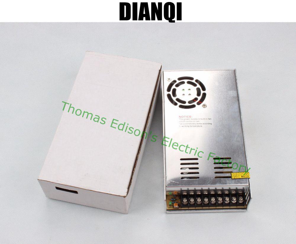 DIANQI power suply 13.5v 350w 25.8A ac to dc power supply ac dc converter high quality S-350-13.5 dianqi high quality s 320 15 power suply 15v 320w 20a ac to dc power supply ac dc converter