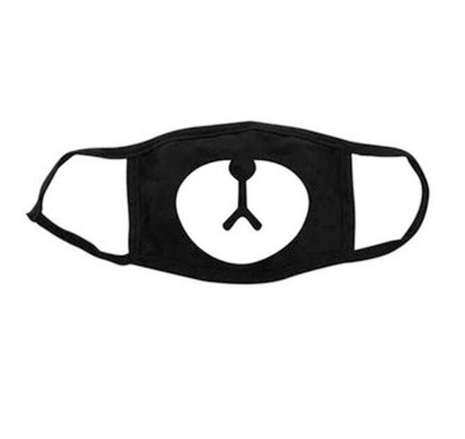 Masken Gastfreundlich Unisex Weiche Cartoon Bär Anti-staub Baumwolle Mund Maske Gesicht Atemschutz Staubdicht Masken