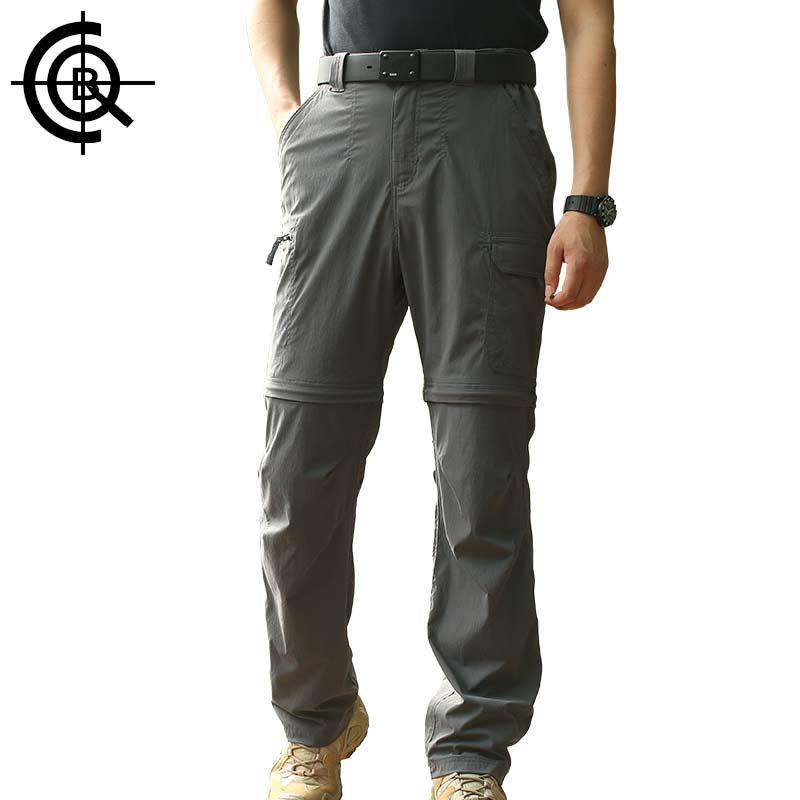CQB Tactical Pants Men Hiking Pants Camping Waterproof Shorts Multi Pocket Outdoor Pants Military Quickly-dry Trousers LKZ0065 men s multi pocket tactical military cargo shorts
