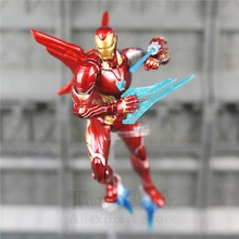 Marvel S.H.Figuarts 6″ Iron Man MK50 MK85 Action Figure Ironman Mark 50 85 Tony Stark SHF Avengers Endgame Infinity War Doll Toy
