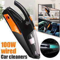 Vehemo Dry and Wet Dust Catcher Illumination Car Vacuum Cleaner High Power for Handheld Strong Suction Auto