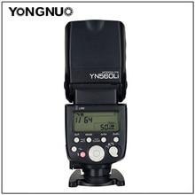 YONGNUO YN560Li источник питания Вспышка Speedlite GN58 2,4G для Canon для Nikon Pentax Olympus DSLR камер