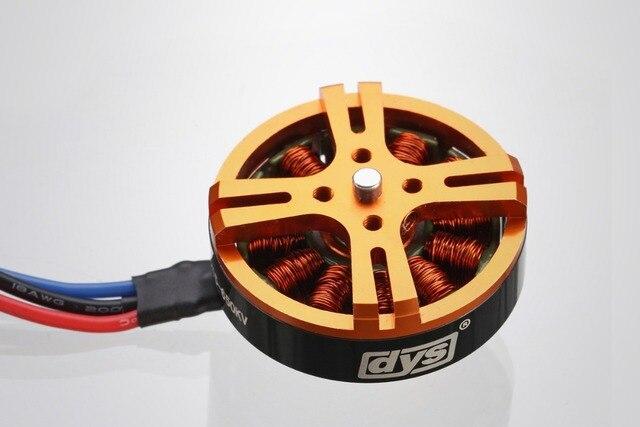 DYS D4215 650KV Motor de eje corto sin escobillas para Mini multicóptero RC Avión Helicóptero piezas de control remoto