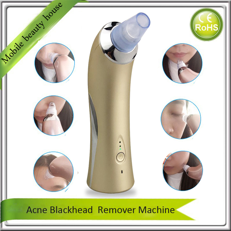The Best Quality Electric Vacuum Suction Face Nose Blackhead Acne Pimple Blemish Extractor Remover EMS Skin Lifting Massager face nose vacuum blackhead extractor pores cleaning black dot comedo extractor point noir aspiration acne suction skin tool