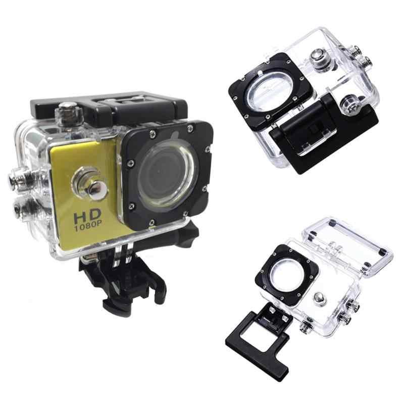 新屋外スポーツアクションカメラボックスケース防水ケースカメラアクセサリー SJ4000 SJ4000 + SJ7000 SJCAM 黒版
