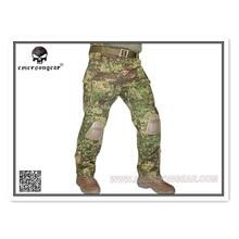 Emerson G3 тактические боевые тренировочные штаны военные армейские камуфляжные с наколенниками EM7039 GZ Greenzone
