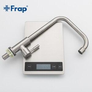 Image 5 - Кухонный кран Frap, современный кухонный кран из нержавеющей стали с вращением на 360 градусов, Y40528