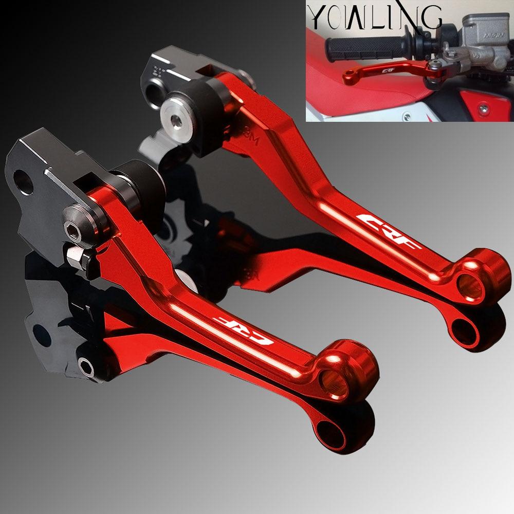 CNC Clutch Brake Levers For Honda CR125R//250R 1992-2003 Pivot Dirt Bike Red