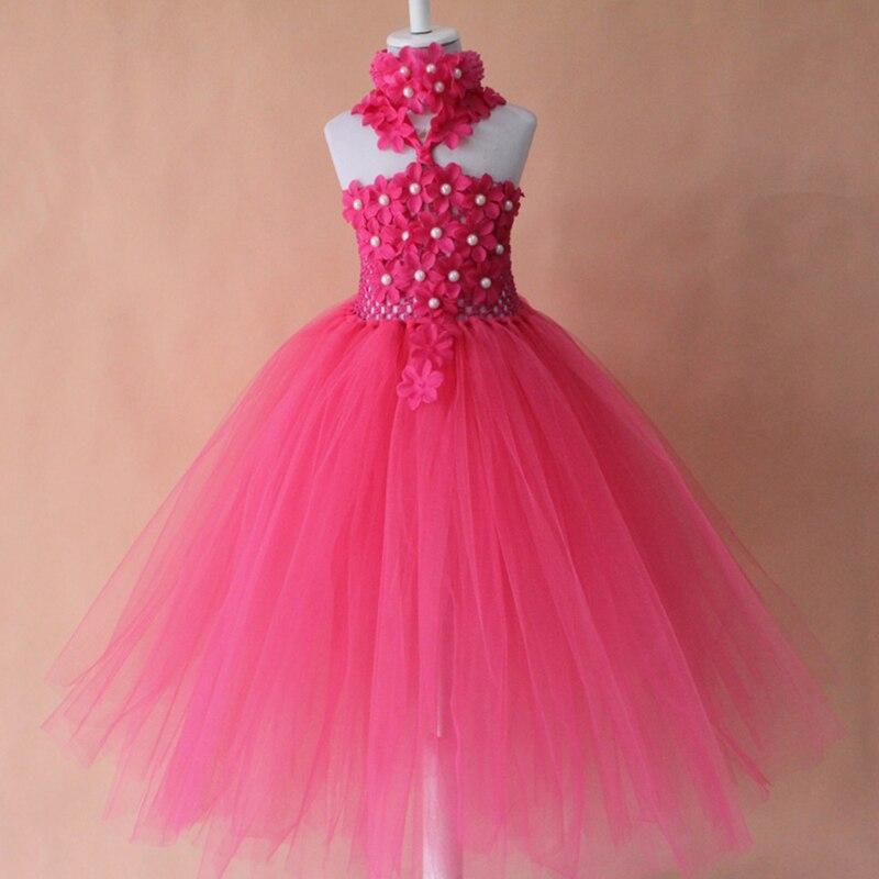 Aliexpress Buy hot pink crochet tutu dress for