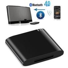 NEW Lanpice Wireless Bluetooth Adapter Stereo Bluetooth 4.1 Music Receiver Audio Adapter for iPhone iPod 30 Pin Dock Speaker TOP стоимость