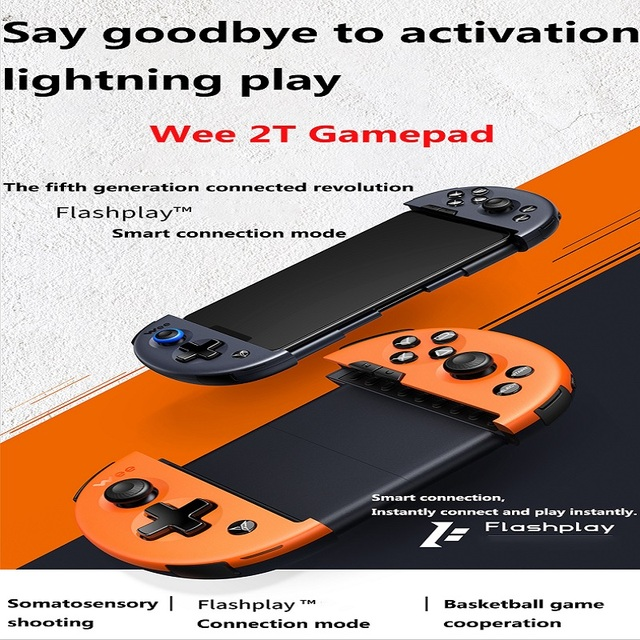 Flydigi Wee 2T bluetooth Wireless stretching gamepad somatosensory version  for ios/android mobile game controller