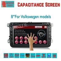 8 Touch Screen Car DVD GPS Built In Can Bus Support Original VW UI For VW