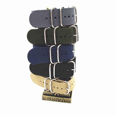 Ring buckle - 1PCS High quality 18MM Nylon Watch band NATO waterproof watch strap fashion wach band - 5 colors available -100809 wholesale 10pcs lot high quality 20mm nylon watch band nato waterproof watch strap colorful fashion wach band nato strap new
