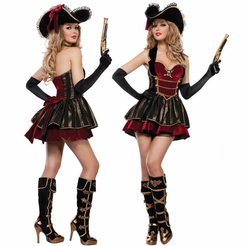 Disfraz De Guerrero Pirata Caribeño Para Mujer Uniformes De Carnaval De Halloween Disfraces De Fiesta Disfraz De Mujer Traje Sexy Disfraces De Películas Y Tv Aliexpress