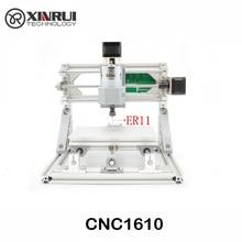 CNC 1610 2500mw ER11 GRBL Diy mini CNC machine high power laser engraving machine 3 Axis