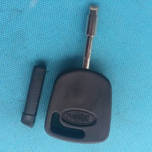 1pc of New Replacement Key Case For Ford Transponder Key Blank Shell Uncut Blade