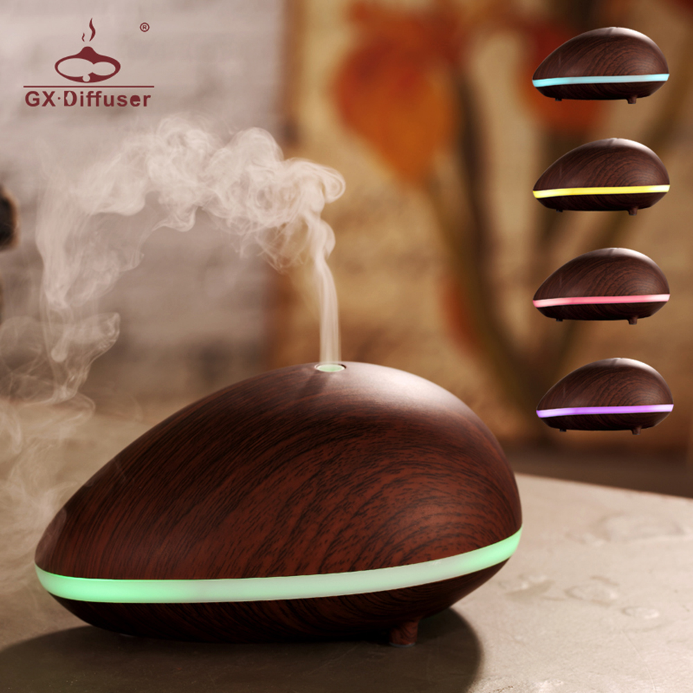 Gx.diffuser Aromatherapy Humidifier Ultrasonic Air Essential Oil Aroma Diffuser Mist Maker Fogger 150ml SPA 25mm 1 7mhz ultrasonic humidifier atomization fogger mist maker piezoelectric ceramic transducer film d25mm