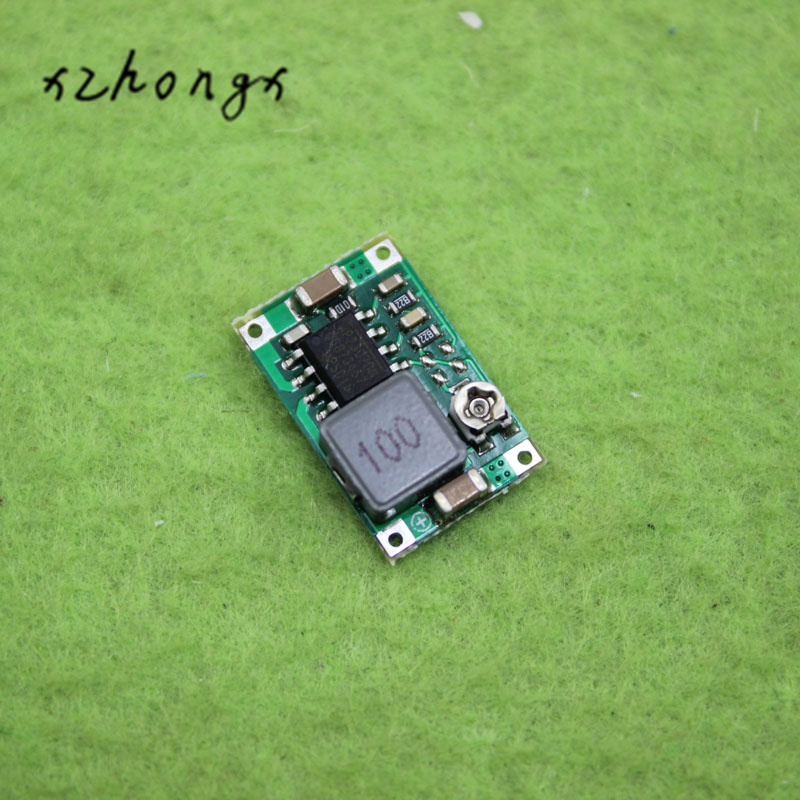XNWY <font><b>10</b></font> pcs RC Airplane Module Mini 360 DC-DC Buck Converter Step Down Module 4.75V-23V to 1V-17V 17x11x3.8mm Mini360 New <font><b>LM2596</b></font> image