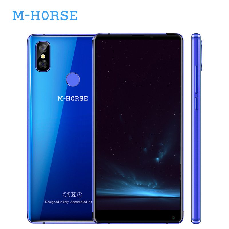 M Horse Pure 2 4G LTE 5.99 Inch 18:9 Mobile Phone Android 7.0 MTK6750 Quad Core 4G RAM 64G ROM Dual Sim Card Type C 3600mAh 16MP