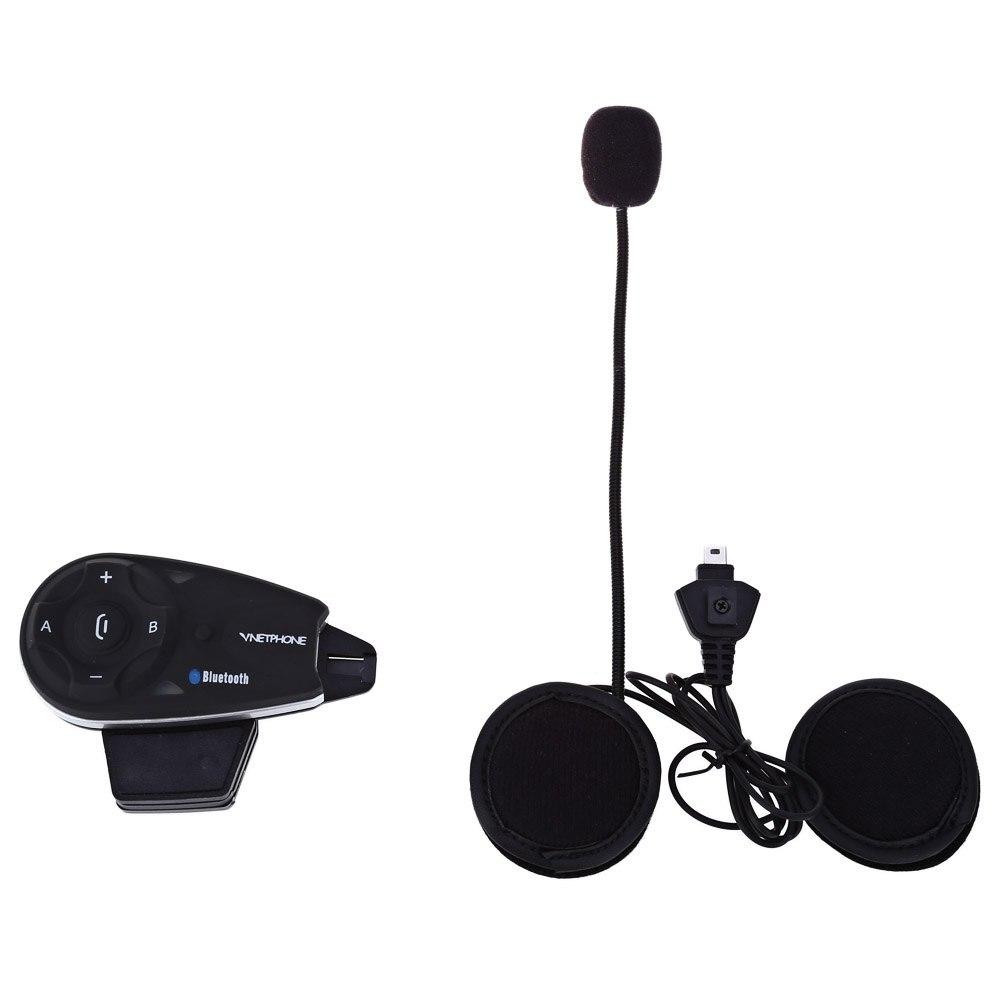У5 1200 м полный дуплекс домофон Bluetooth мотоциклетный шлем домофон в течение 5 гонщиков для наушников микрофон шума сопротивления ЕС Plug