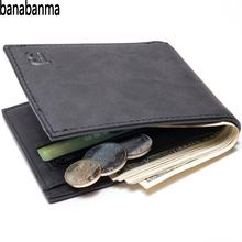 Banabanma Fashion 2018 Men Wallets Men Wallet with Coin Bag Zipper Small font b Money b