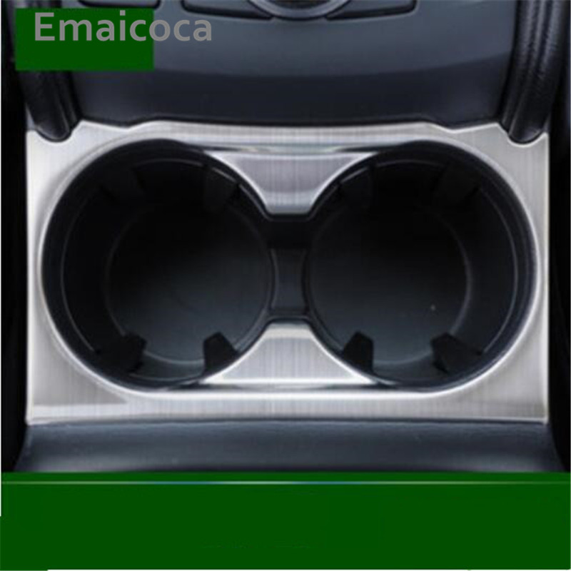 Emaicoca Free shipping central water cup holder decoration sticker cover case For Mazda CX-5 cx5 2017 2018 car styling