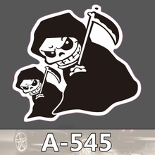 A-545 Sichel Geist Wasserdichte Kühle DIY Aufkleber Für Laptop Gepäck Skateboard Kühlschrank Auto Graffiti Cartoon Aufkleber