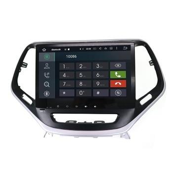Tesla style 4K big Screen Multimedia Car No DVD Player GPS Navigation For JEEP Cherokee 2014 2015 2016 2017 headunit radio tape