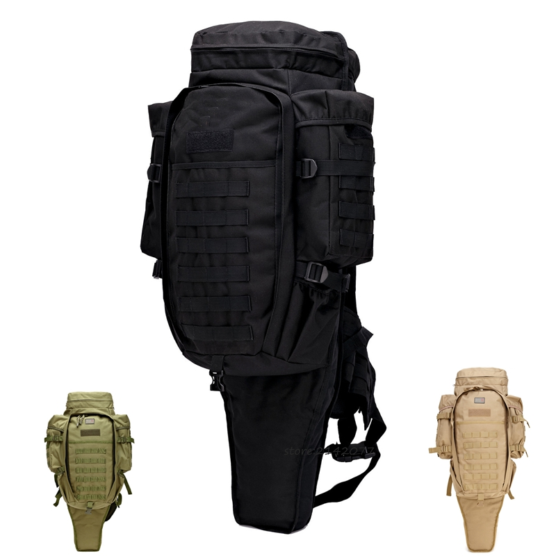 Assault Military Rucksacks Tactical Rifle M4 Carbine carry bag Shotgun Bag Airsoft Paintball Hunting Gun Backpack airsoft adults cs field game skeleton warrior skull paintball mask