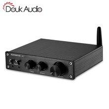 2019 цифровой усилитель Nobsound HiFi Bluetooth 5,0, стерео Домашнее аудио 200 Вт с управлением высокими и басами