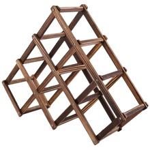 Classic Wooden Wine Rack