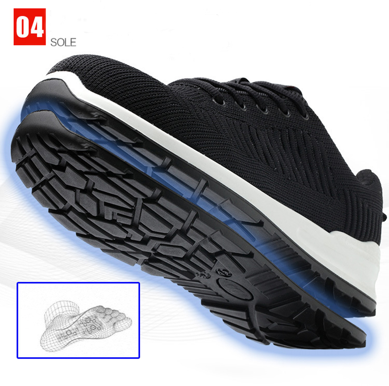 New-exhibition-Flying-mesh-Breathable-Steel-Toe-Cap-Safety-Shoes-Men-anti-pierce-Injection-bottom-work-Safety-boots-2019-Sneaker (14)
