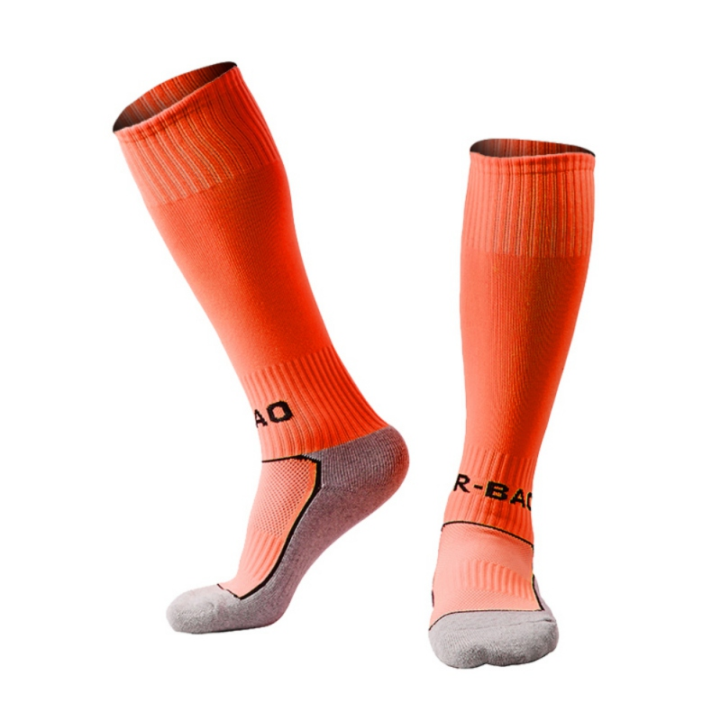 R BAO Outdoor Sports font b Football b font Socks Towel Children s Soccer Socks Youth