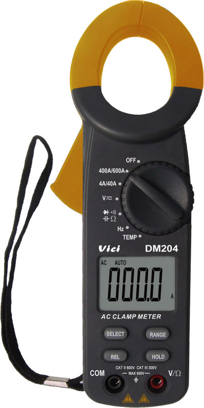 High Frequency Voltmeter : High presion digital clamp meter ammeter ohmmeter