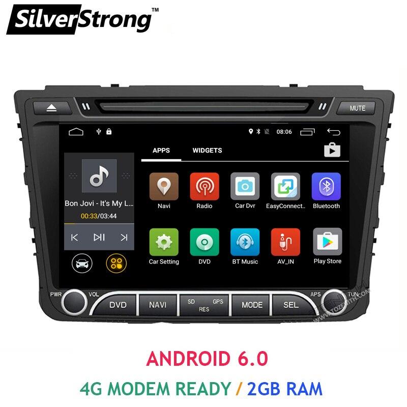 imágenes para Envío Gratis Quad Core 2 GB RAM Android6 Coche DVD Para Hyundaii IX25 Creta 2014-2017 Creta OBD GPS DVD BT Radio Reproductor de Medios