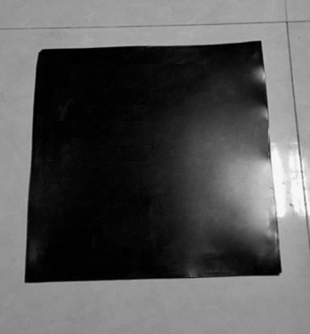 Custom Made Conductive Silicone Rubber Slab Sheet 1mm 3mm 5mm x 300 x 300mm 2mm 3mm x 400 x 400mm about 50 ohm Black earthing fitted sheet 137x 203cm silver antimicrobial fabric conductive
