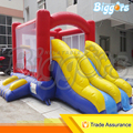Inflatable Biggors Double Slide Bounce House PVC Inflatable Jumping Castle Outdoor Trampoline