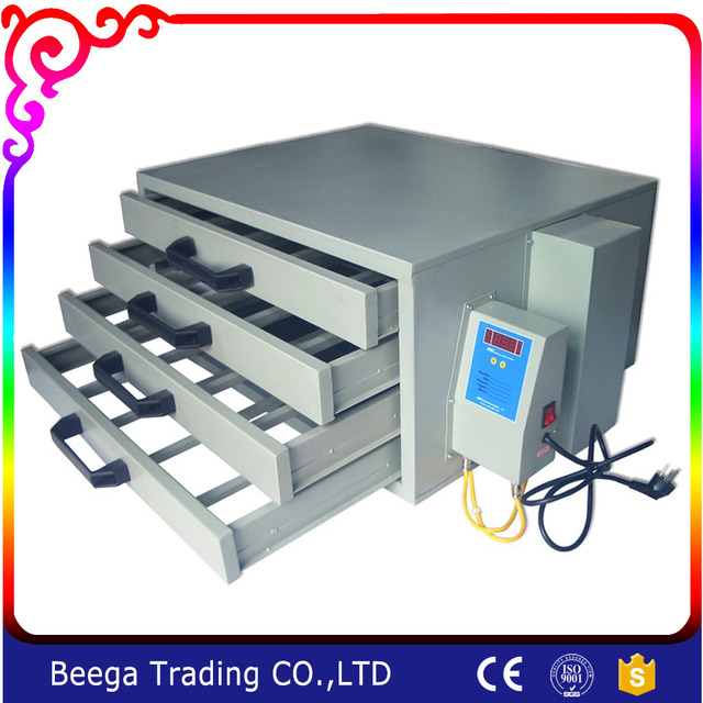 110V Screen Drying Cabinet A 4 Layers Screen Printing Equipment Temperature  Control Plate Making T