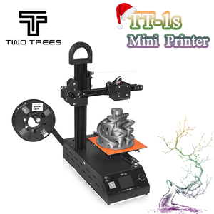 2018 New DIY TT-1s Mini 3D printer 220V/110V Universal Made from CN Fully Assembled supplied with 0.3kg Filament in random color