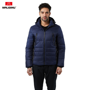 MALIDINU 2019 Men Down Jacket Winter Down Coat Thick Warm Winter Jackets Duck Down Jacket Men Waterproof Fashion Outdoor -30C