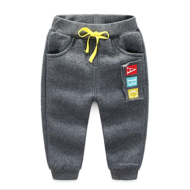 JGVIKOTO Kids Sports activities Pants Winter Child Boys Woman Heat Plus Thick Velvet Pants Chlidren Leggings Winter Colourful Pant HTB1RI4SpGmWBuNjy1Xaq6xCbXXa8