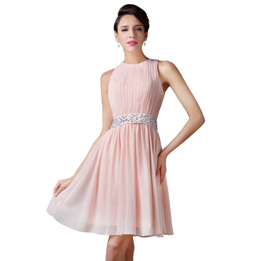 Buy Light Pink Prom Dresses 2017 Sexy