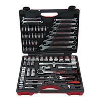 Набор ручных инструментов, набор инструментов для ремонта автомобилей, набор 1/2 1/4, набор колец/открытые комбинированные инструменты, гаечн