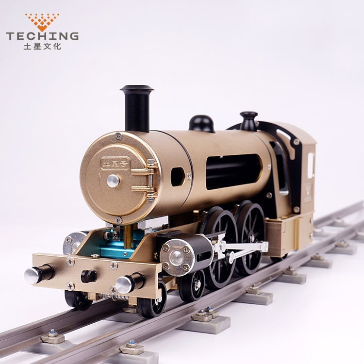 DIY Steam Train Assembles Electric Metal Model Adult Difficult Educational Toys Creative Gift