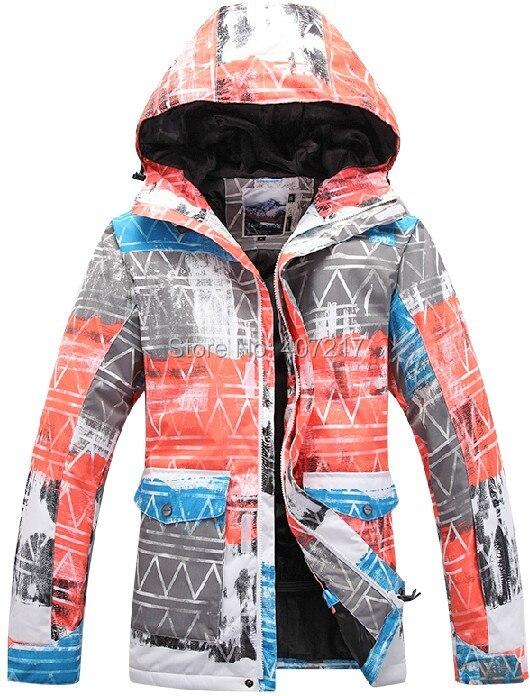 2015 mens ski jacket orange snowboarding jacket for men warm snow coat skiwear anorak mountaineering jacket waterproof 10K warm 2016 womens color matching ski jacket blue pink gray snowboarding jackets skiing jacket for women anorak skiwear 10k xs l