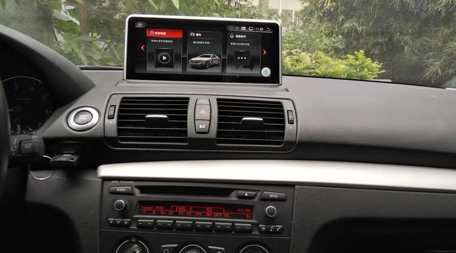 Navirider autoradio Android 9.0 lecteur gps de voiture pour BMW E87 2005-2012 Idrive 10.25