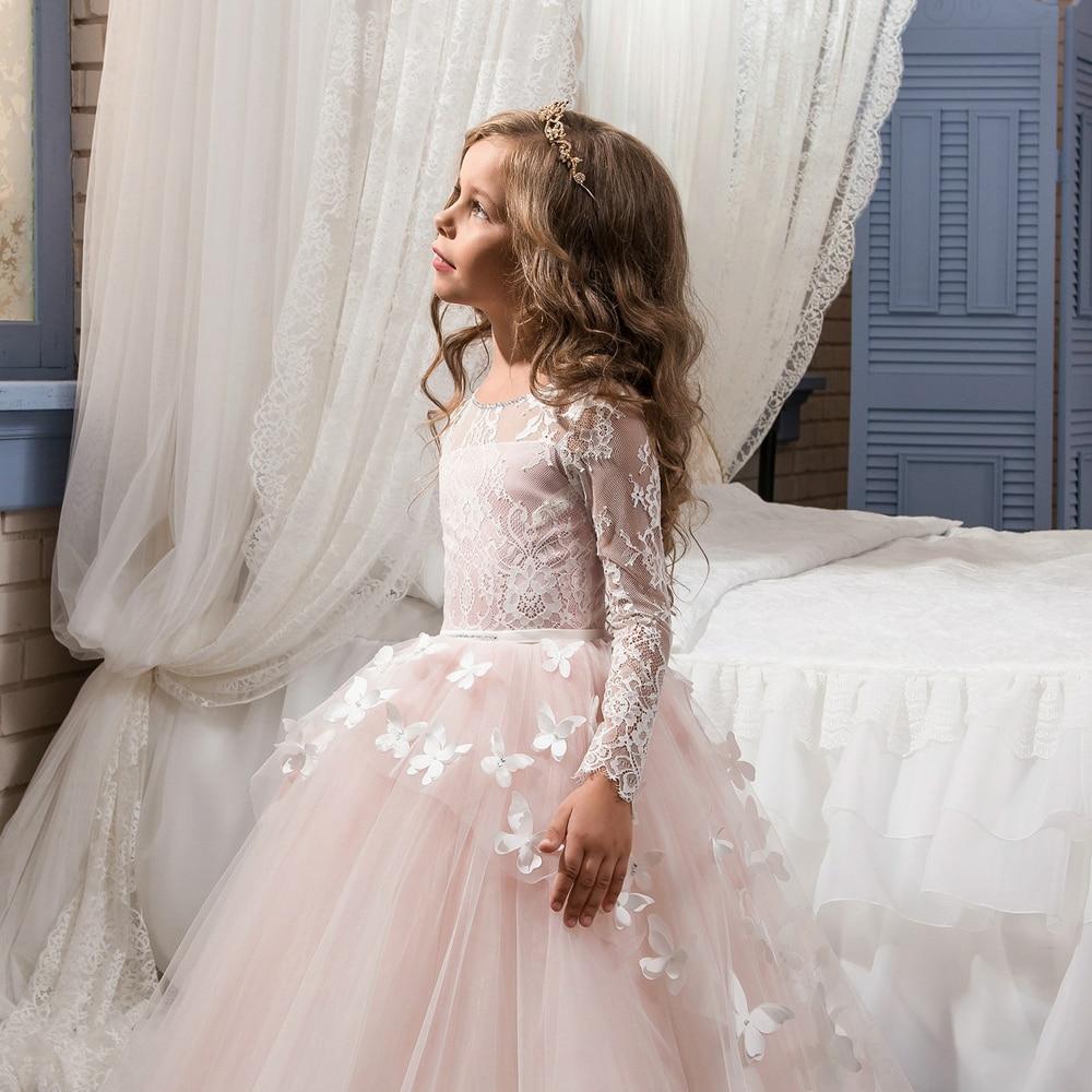Kleider für Mädchen Alter 11 Kleine Kinder Prom Dresses Kids ...